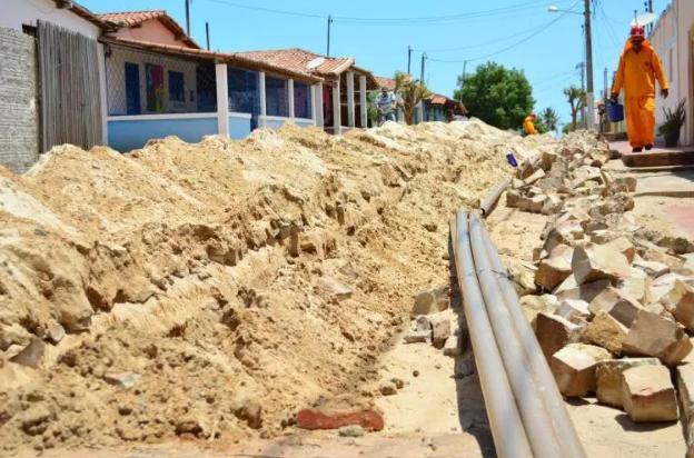 Pedra Grande: Água da adutora Boqueirão está chegando a Praia de  Enxu-queimado. - Blog do Jadson Nascimento