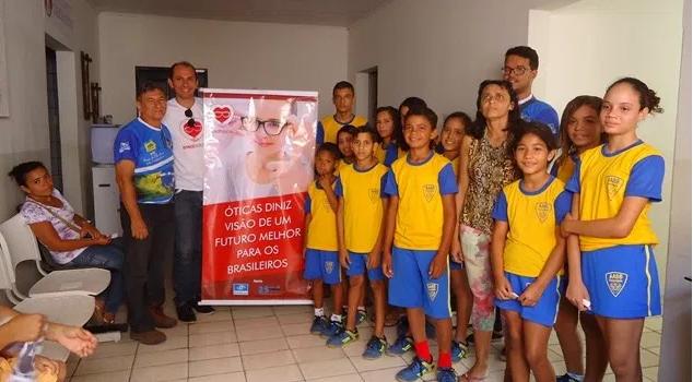 É com esse objetivo que a Óticas Diniz João Câmara, escolheu para atender  de forma voluntária as crianças do Programa AABB Comunidade. 020fbf6303